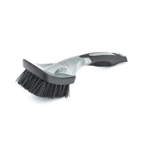 Black Wheel Tire Brush
