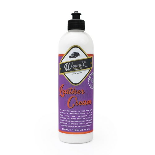 Wowos Leather Cream