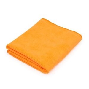 All Purpose Car Wash Towel Orange