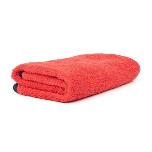 Drago Red Suede Edge Microfiber Towel