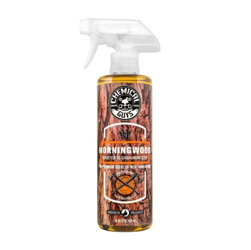 Chemical Guys Morning Wood Scent Air Freshener and Odor Eliminator 473ml
